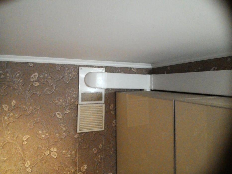 Монтаж вентиляции кухонных зон