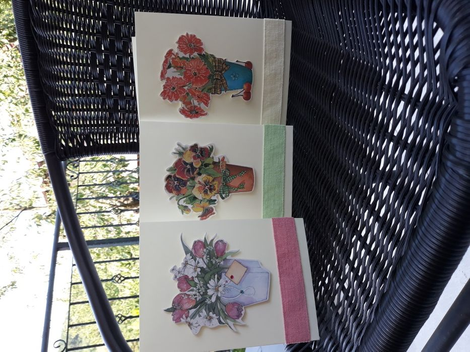 Ръчно изработена картичка: За учителката любима!