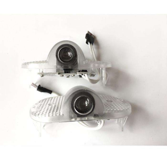 Set proiectoare cu logo 3D Skoda Octavia 2 2005-2013 pentru iluminat