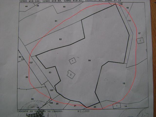 Продава се имот 8 330 кв.м./60 лв. кв.м./
