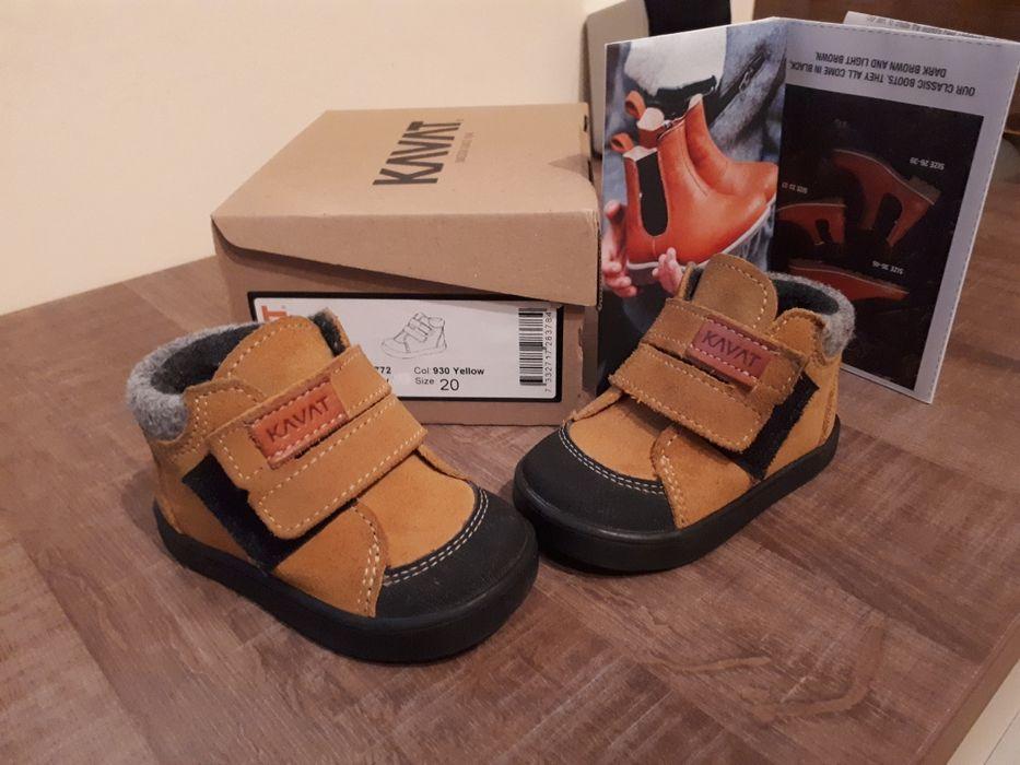 Papuci piele KAVAT interior 11.7 cm pret mag 250 lei