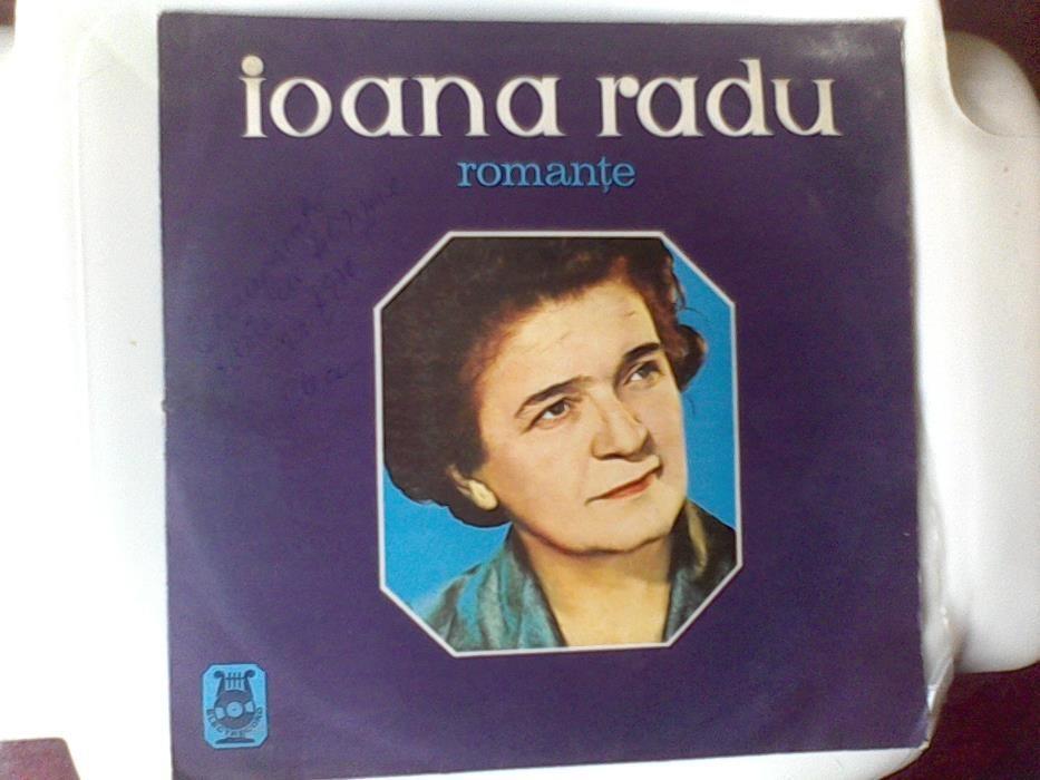 Vinil vintage deosebit Ioana Radu - Romante,Electrecord,1971