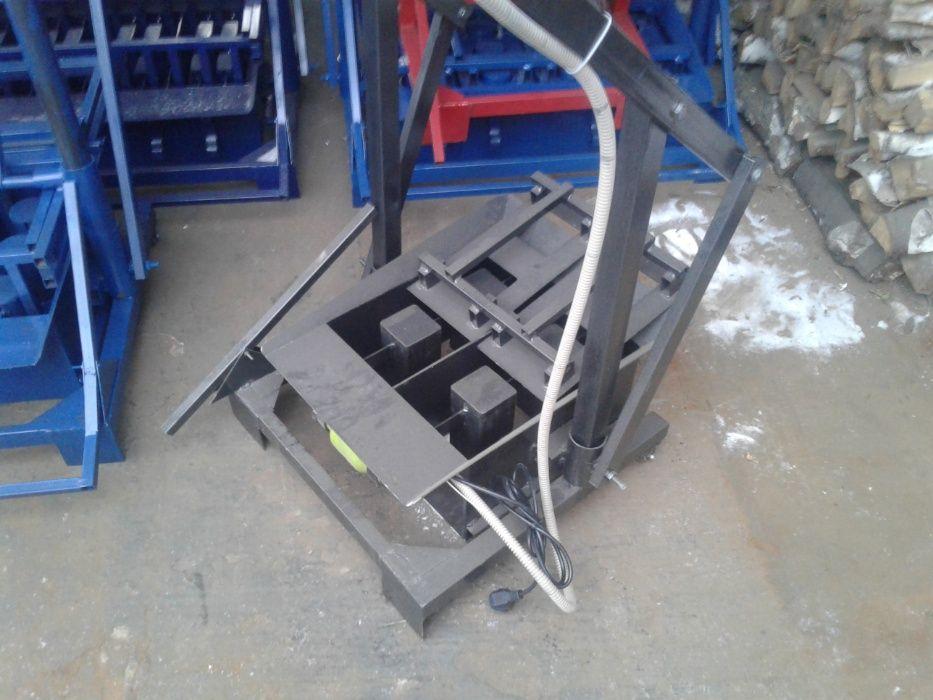 Станок для производства пескоблока. Доставка бесплатная