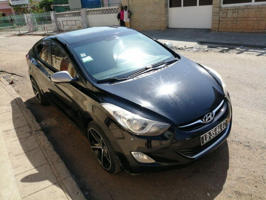 Hyundai elantra limpo motor seco