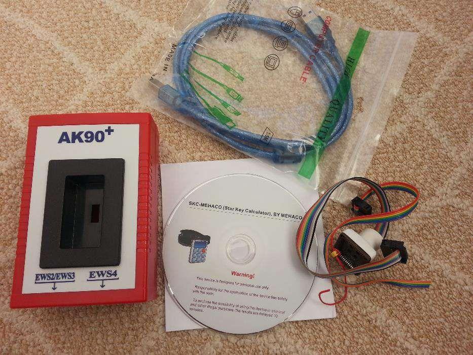 Programator chei auto BMW AK90 EWS key pt. E39 E46... (1995-2006)