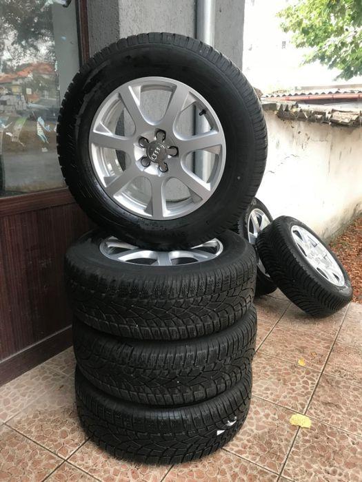 ТОП!!! ТОП!!! ТОП!!! джанти със зимни гуми 235-65R17 за АУДИ/AUDI Q5