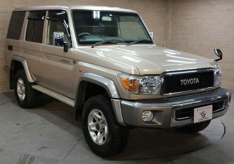 Toyota land cruiser disponível