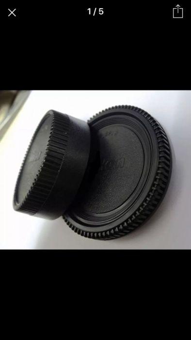 Set capac body DSLR Nikon Canon capac spate obiectiv foto