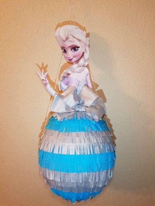 Pinata Rapunzel Elsa Ariel Clopotica Vaiana Barbie Cenușăreasa
