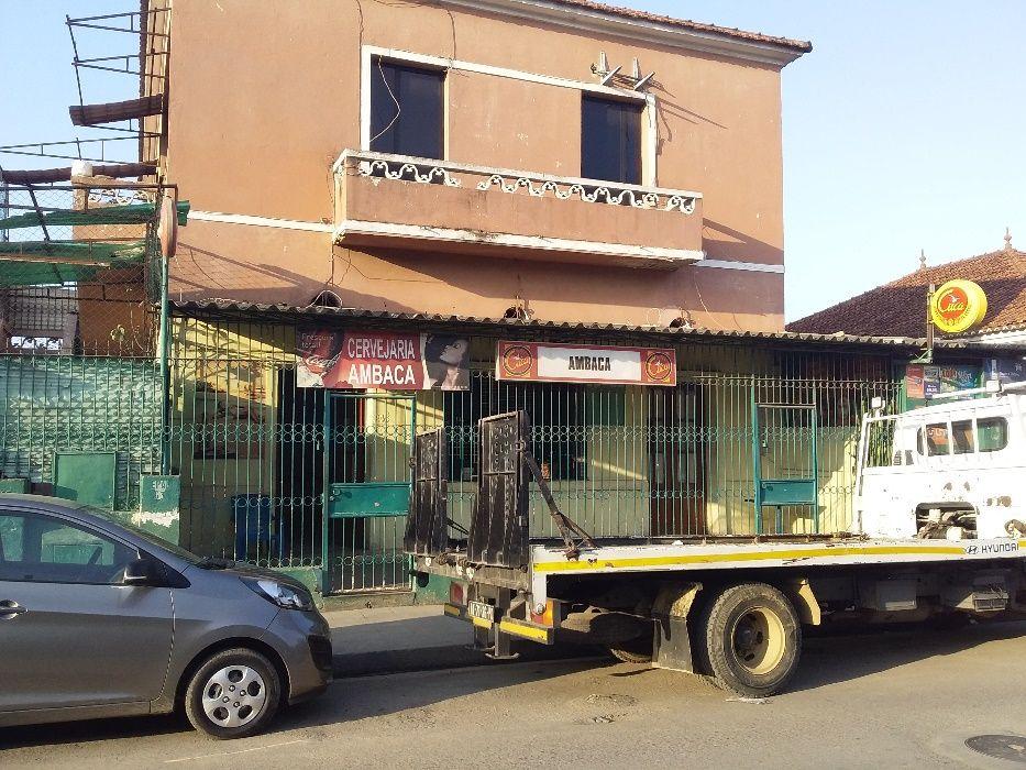 BAR & CASA T3+1 a venda, bairro Sao Paulo - Larga de Ambaca
