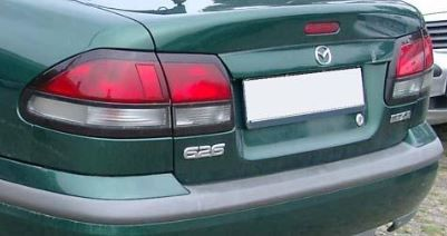 Фонари задние новые от Mazda 626 полный комплект от DEPO