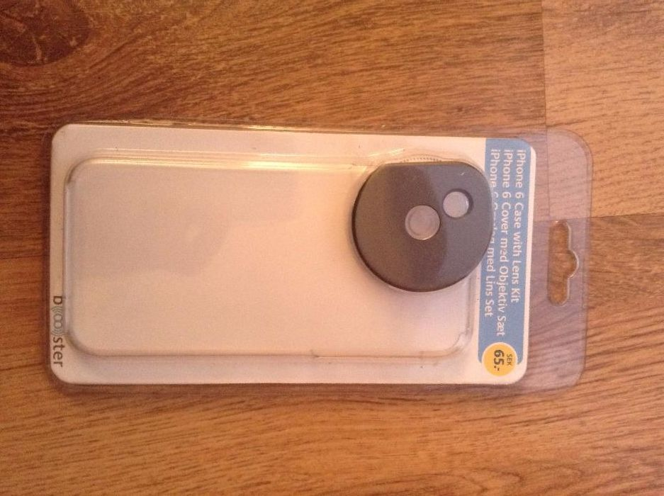 Husa iPhone 6 case with lens kit