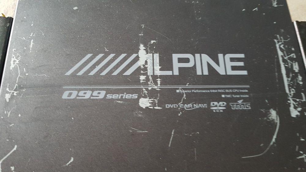 Alpine dvd gps car navigatii system NVE-N099P