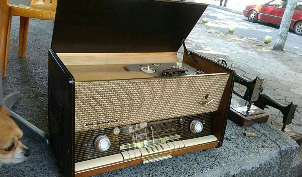Радио магнетофон!!! Grundig