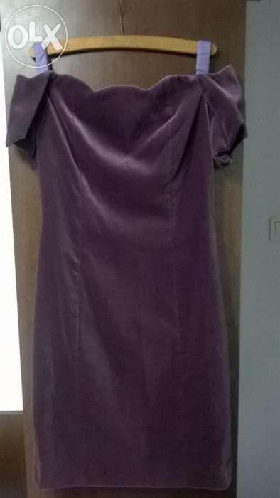 Rochie ocazie din catifea