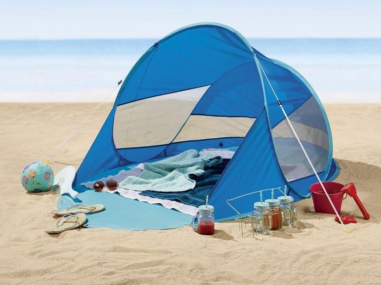 Cort de plajă POP-UP, factor UV40