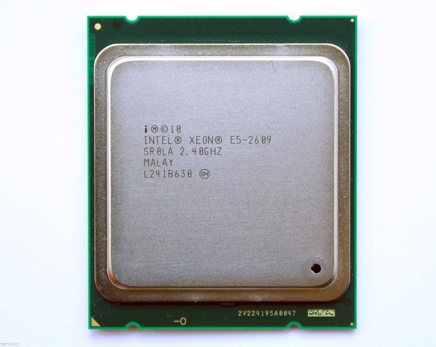 Procesor Intel Xeon E5-2609, 10M Cache, 2.40 GHz, 4core
