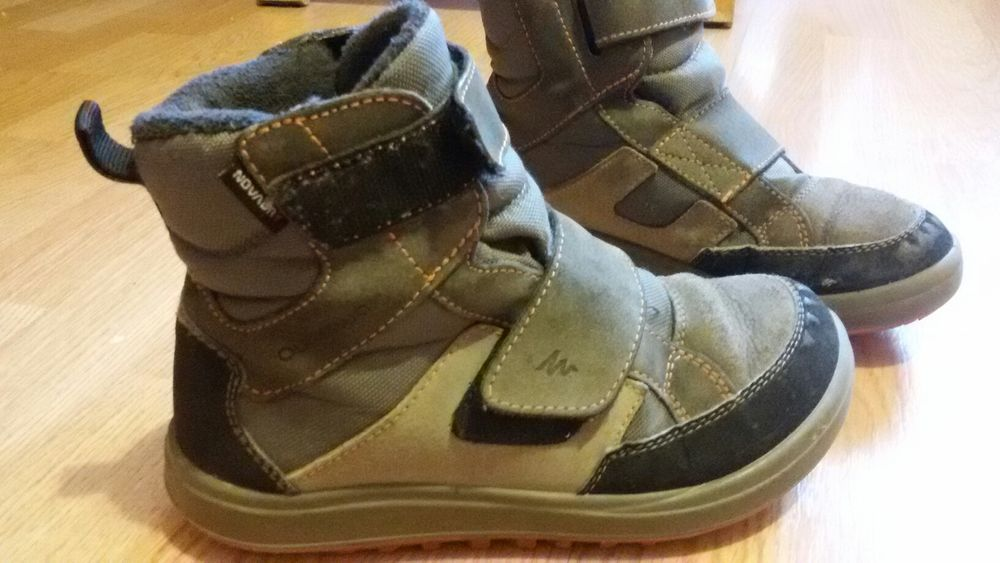 Ghete cizme iarna impermeabile Quechua 32