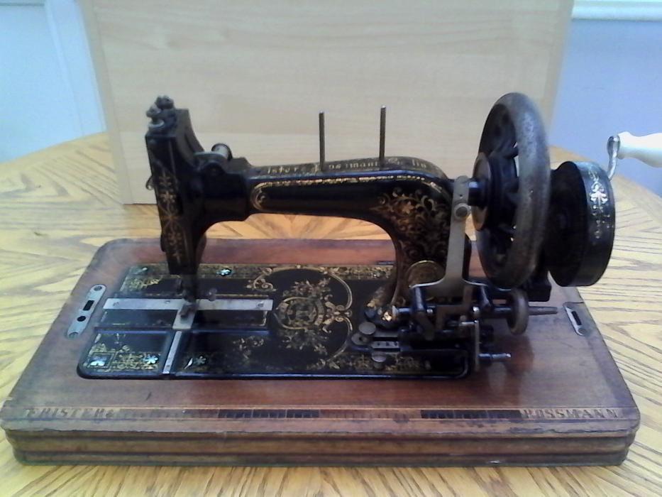 Masina de cusut FRISTER & ROSSMANN--colectie