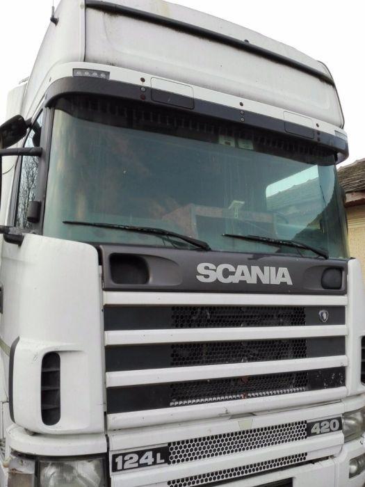 Scania r124 injectoare, kit ambreiaj, bord, parbriz, faruri, radiator Buzau - imagine 1