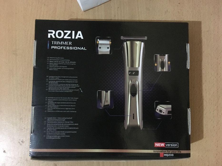 Máquina de barbear marca Rozia