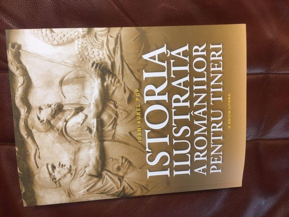 Vand cartea Istoria ilustrata a romanilor pentru Tiberius