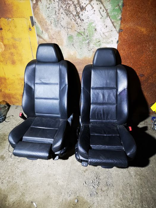 Interior piele neagra Recaro Bmw e60