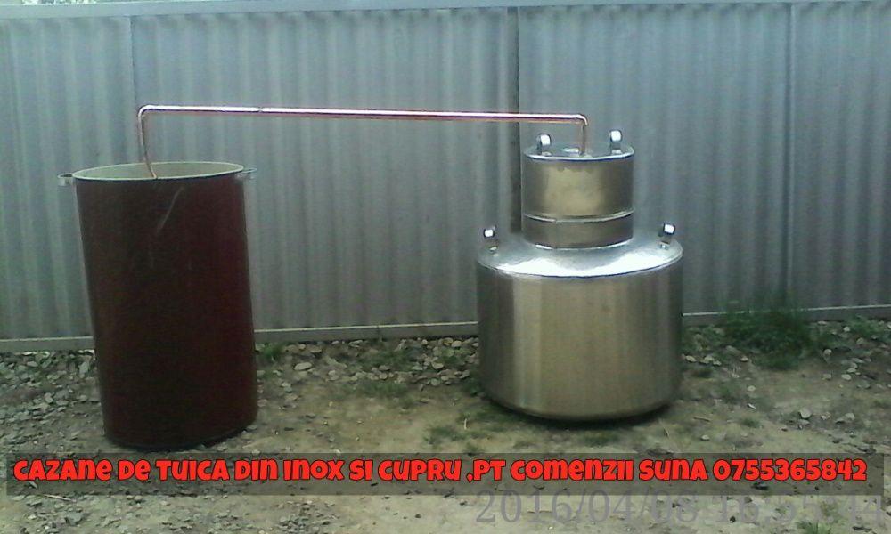 Alambic (cazan pentru tuica din inox alimentar sau cupru)