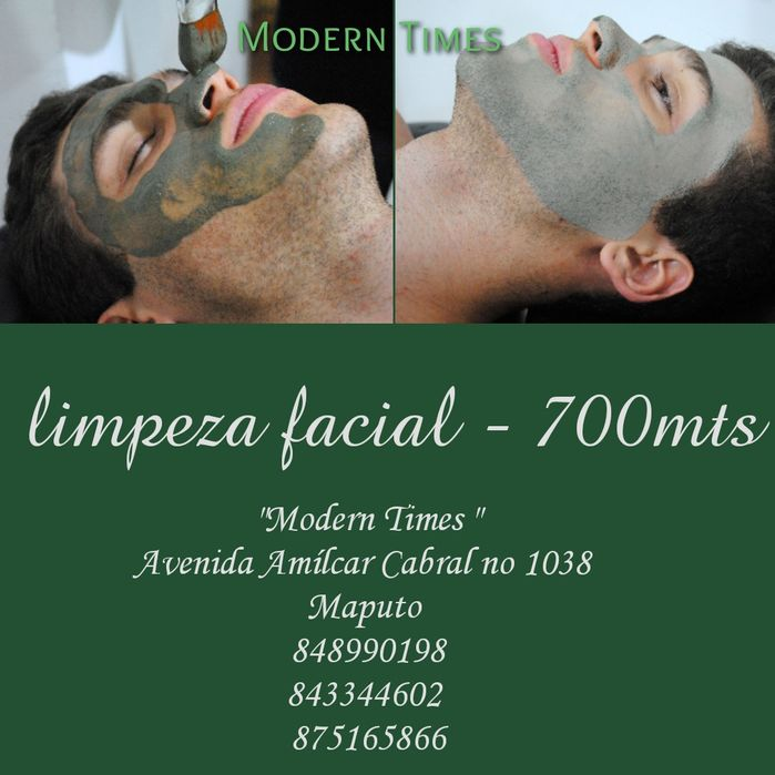 Facial Cleansing / Limpeza facial em Maputo no Modern Times Spa