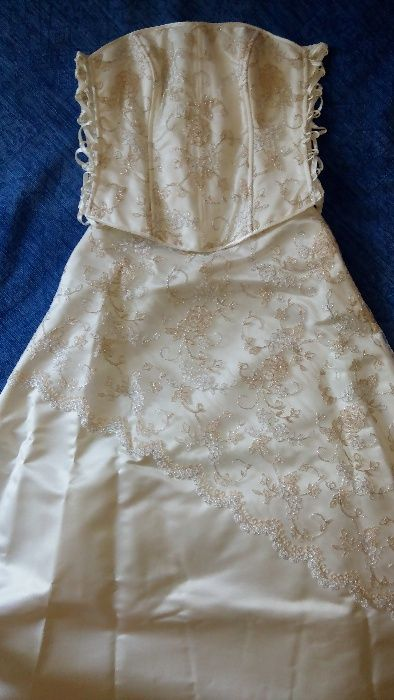 Булчинска рокля от две части
