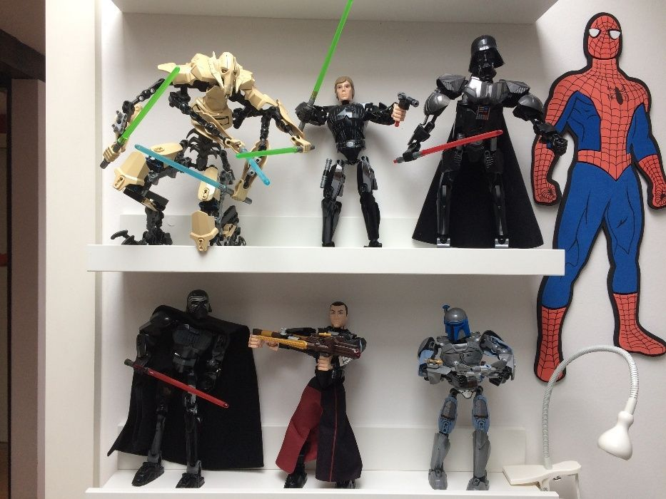 Colectie 6 figurine Lego Star Wars Grievious Darth Vader ca noi cutie