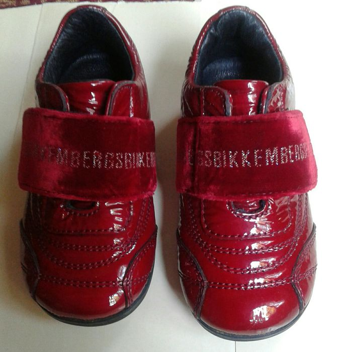 Pantofi ghete Bikkembergs nr. 22, int. 14 cm, piele interior/exterior