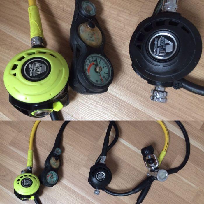 Echipament complet scuba diving Aqua Lung Neopren