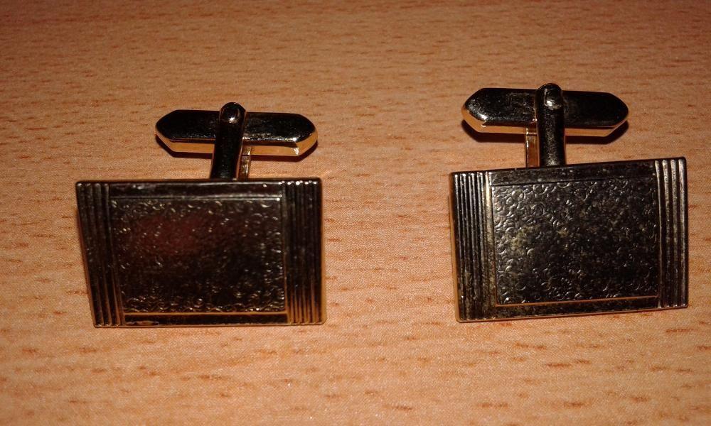 Комплект позлатени ръкавели от Германия