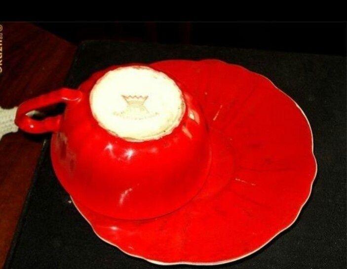Serviciu de cafea-alp-czechoslovakia cu coroana