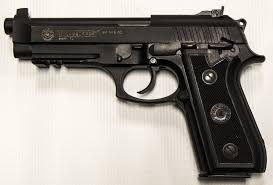 Pistol PUTERNIC Airsoft + incarcator, Tuburi CO2 Cu Aer Comprimat gaz