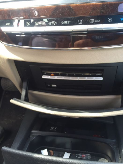 Magazie 6cd-URI mercedes w221 cd-player mercedes s Classe