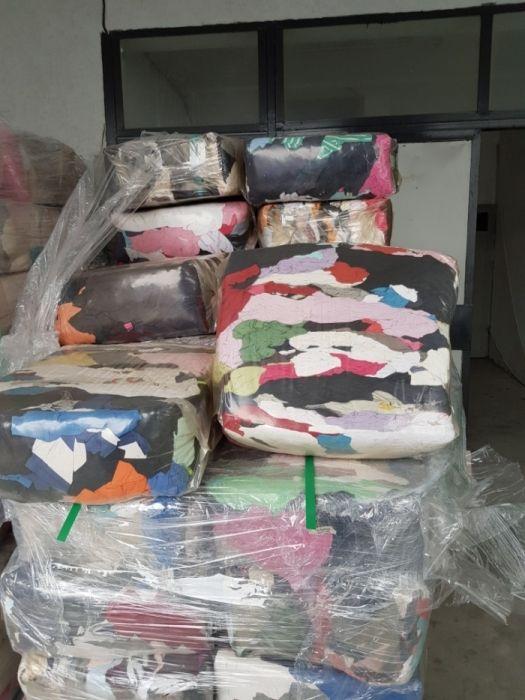 Памучни парцали в чували от 10 кг. 100% памук-трико,хавлии.бяло трико
