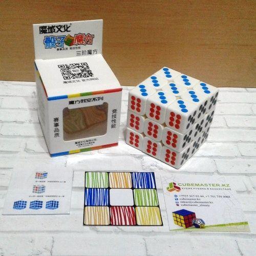 Кубик Рубика MoYu MoFangJiaoShi Dice Cube