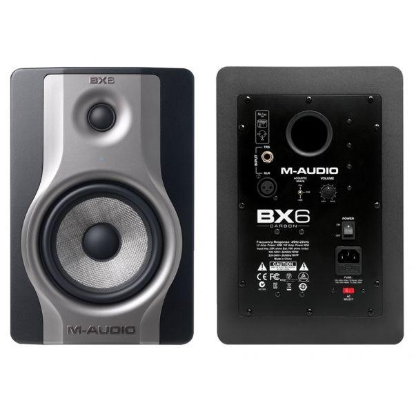 Colunas de estúdio M-Audio bx6
