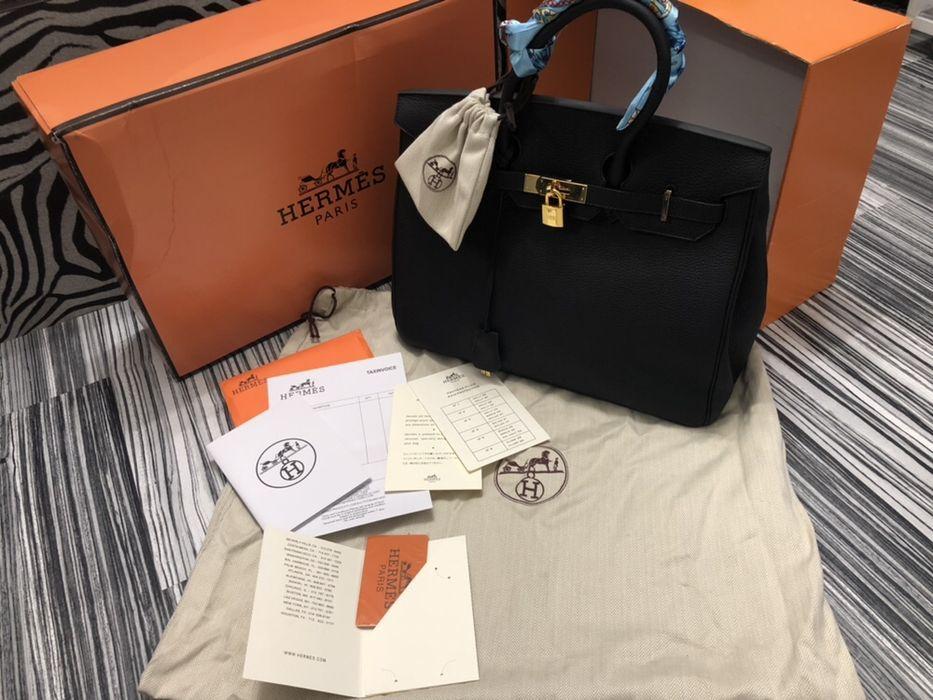 Geanta Hermes/piele naturală nu ecologică/cutie, săculeț,certificat a