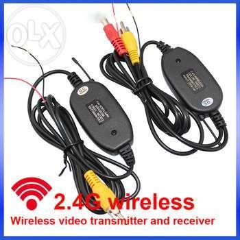 Transmitator si receptor Video Wireless camera auto marsarier