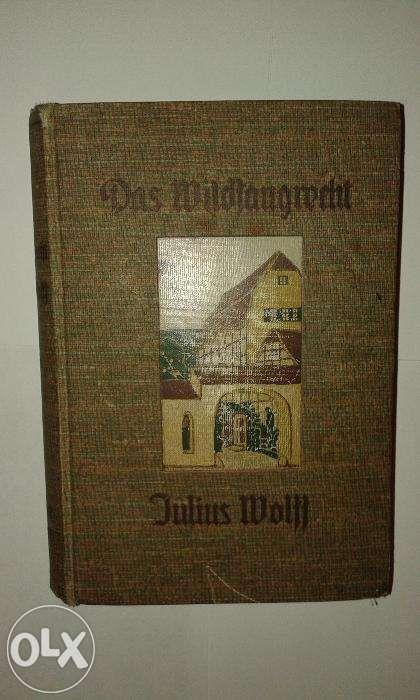 продаю 2 книги на немецком языке 1902 и 1907 года выпуска