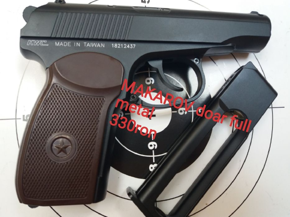 REDUCERE Pistol airsoft full metal pe co2 putere mare 6mm Nu WALTHER Bucuresti - imagine 7