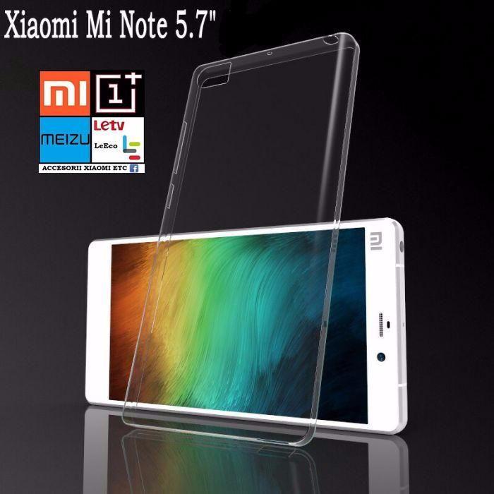 Huse Silicon pentru Xiaomi Mi Note / Mi Note Pro 5.7 inch display.