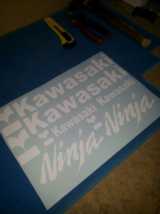 Set stikere Kawasaki ninja