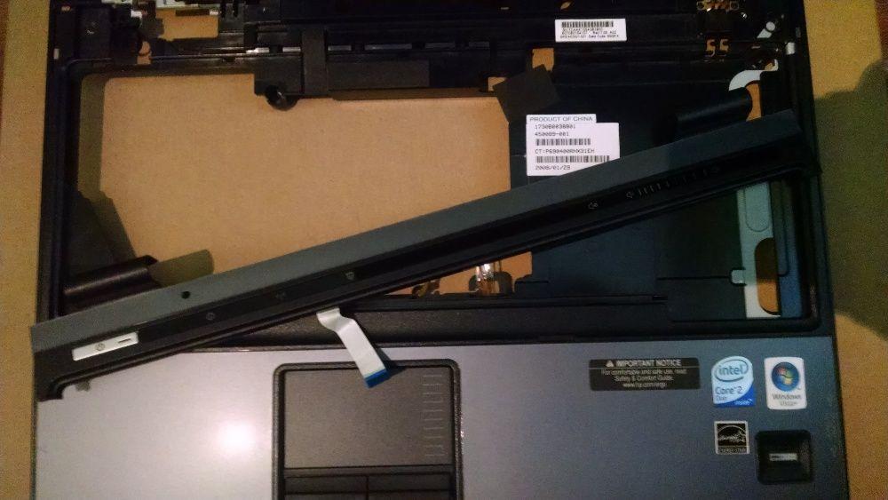 Carcasa superioara Palmrest + Touchpad + Fingerprint Reader HP 6510b