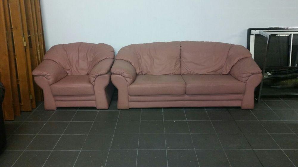 Продавам Италиански диван,естествена кожа