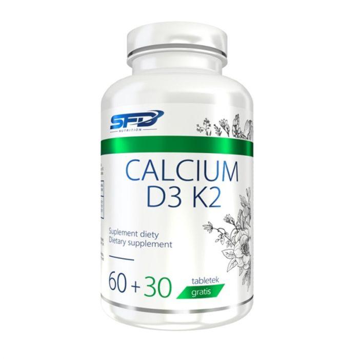 SFD Calcium + D3 + K2 / 90 табл. / Доставка 3 лв!