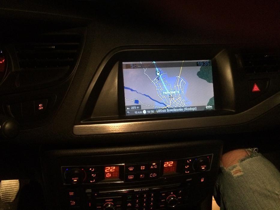 Диск за навигация PEUGEOT CITROEN пежо ситроен версия 2017год